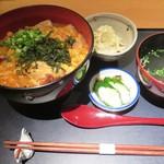 72507852 - 名古屋コーチン親子丼御膳(並)1,200円(税込)