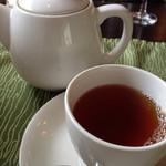 カフェ カリフォルニア - 食後のお茶