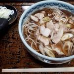 むさし乃 - 肉南蛮そば750円