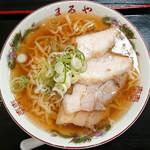 老麺 まるや - 喜多方ラーメン_750円