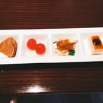 Chuugokusenkashanrin - 前菜盛り合わせ