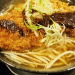 高知ジェントル麺喰楽部 - かつラーメン(醤油)