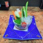 飛車角 - 野菜ステック?