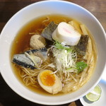 麺や ハレル家 - 秋刀魚SOBA_850円