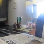 源 吉兆庵 - おまけ、隣の連れのテーブルにはコアントローが2本。あまり見ない光景。