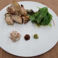菜な - 9月のおすすめ料理【近江鶏のハーブオイル焼き】
