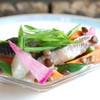 ローリエ - 料理写真:レンズ豆とイワシのサラダ