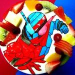 プティ・アミ - 料理写真:キャラクターケーキ『仮面ライダービルド』
