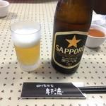四川家常菜 ひろ - ビールはサッポロ