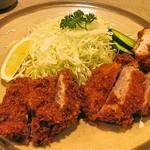味のとんかつ 丸一 - ヒレランチ定食