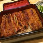 隅田川 - 料理写真:うな重・松(3,672円)★★★☆☆