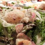 J'adore Chayamachi - 温泉卵とカリカリパンのシーザーサラダ