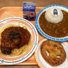 トーマスレストラン - 料理写真:カレーライス、プレッツェル、牛乳、あと茄子のトマトソースパスタだったかな?