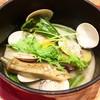 ハマグリと秋野菜のココット煮