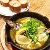 秋刀魚とレモンのアヒージョ