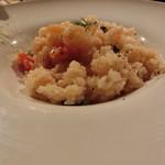 J'adore Chayamachi - ナポリ風プリップリ海老とフレッシュトマトのリゾット