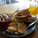 Sandwich Cafe Ampersand - キッズメニューの サンドイッチセット