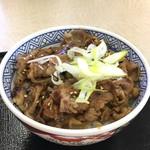 吉野家 - 牛カルビ丼(並盛)