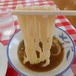 みうらうどん - 麺リフトアップ