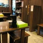 室壱羅麺 - 店内の様子。