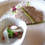 ヴェリータ - 黒壁ランチ2200円 前菜