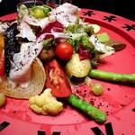 プティ サレ - 北海道産野菜にこだわった一日分の野菜プレート