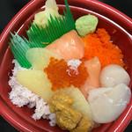海鮮丼 長崎丼丸 - 北海丼