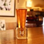 シェ・カジモド - グラスが素敵です。