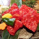 福牛 - 特選おすすめ焼肉定食200g(クラシタ&ハネシタ)
