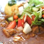 ガネーシュ m - ラム肉のカレー