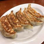 北海道ラーメン おやじ - ギョウザ(おやじ麺ギョウザセット)