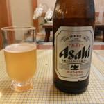 登里市 - ドリンク写真:まずはビール♪