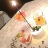 フレンチレストラン オ・ラ・ラ - 料理写真:バースデーミニケーキのキャンドルスタンド