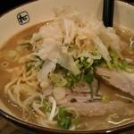 麺や拓 - Wラーメン