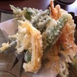 72525483 - 野菜天ぷらです。