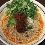 濃厚担々麺 台湾まぜそば はなび - 料理写真:九条ねぎ盛り担々まぜそば 1010円