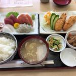 いたこ丸 - いらこ丸定食(並) 1200円
