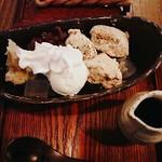 犬茶屋本舗 - わらびあんみつ565円