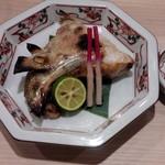 日本酒とおばんざい 北庵 - かま塩焼き