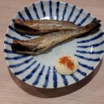 日本酒とおばんざい 北庵 - 氷下魚一夜干し