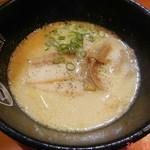 ラーメン一作 - 鶏塩白湯らーめん \700