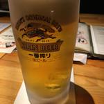炭の暖 - ビール