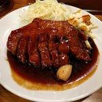 大阪トンテキ - トンテキ定食200g