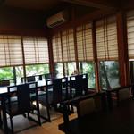 自然薯 茶茶 - 店内(お客さんがいなくなった隙にパチリ♪)