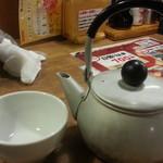 大庄水産 - 海の男のヤカン酒(約3合)580円