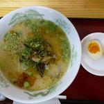 元祖タマユラーメン - タマユラーメン(煮玉子トッピング)