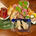 大衆ワイン酒場バルバル - 前菜肉の盛り合わせ ハーフ 880円