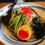 をうみ - 冷麺(玉子側)