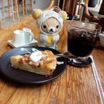 東向島珈琲店 pua mana - いちぢくのタルト、水出しコーヒー