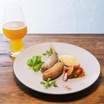 Inazuma Dining - 2種のソーセージグリル チョリソ&ハーブ